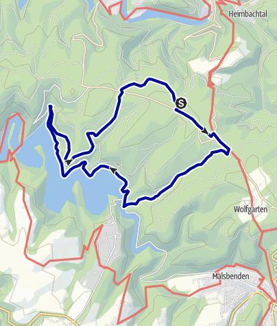 Karte / Haus Kermeter Victor Neels Brücken Runde