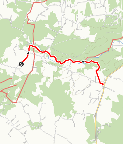 Karta / Sankt Olofsleden, Andrarums kyrka - Eljaröds kyrka