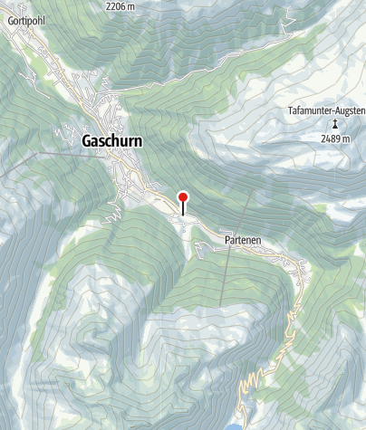 Karte / Klettergarten Rifa