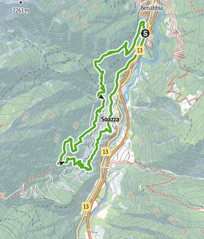 Karte / Sentiero Cultura e Natura tra castello e castagni