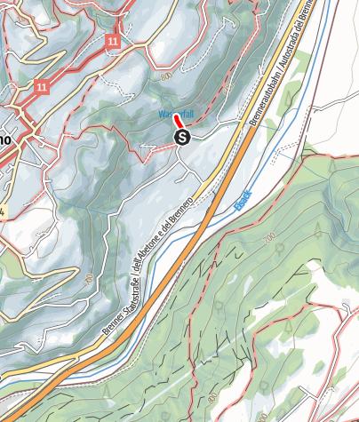 Mapa / Schrambacher Wasserfall-Rundweg
