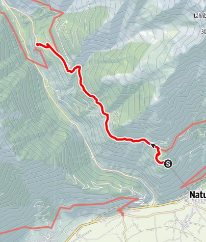 Mapa / Unterstell Naturns - Vorderkaser