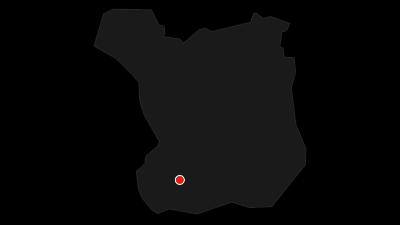 Karta / Mariavägen, från Trelleborg till Dalby