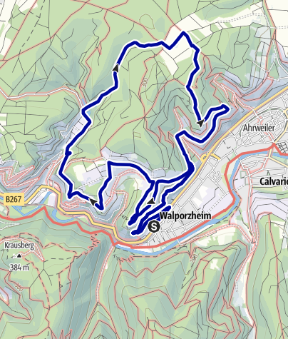 Karte / Rundwanderweg Bad Neuenahr Nr. 2