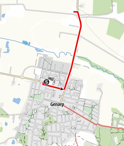 Map / Mariavägen, Trelleborg till Dalby, etapp 4