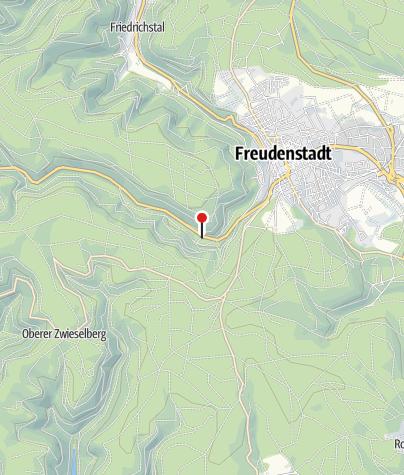 Karte / Freudenstadt RM