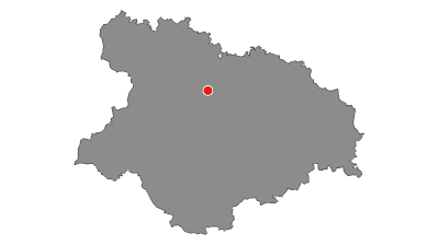 Karte / Schwerin - Bützow Schleifenroute Etappe 66 R
