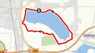 Karte / Seerundweg am Markkleeberger See