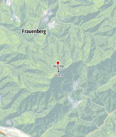 Karte / Ottokar Kernstock Schutzhaus am Rennfeld