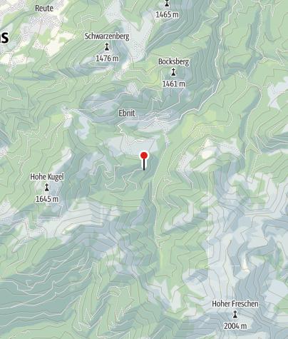 Karte / Lindenbachalpe
