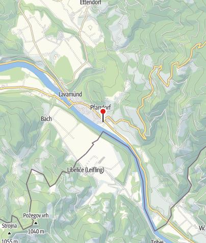 Karte / Lavamünd - Gasthof Hüttenwirt