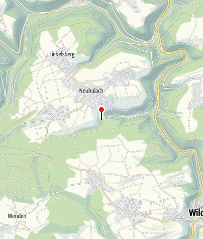 Karte / Geologische Erlebnisführungen in den 'Unteren Stollen'