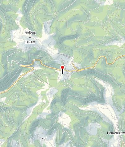 Karte / Gasthaus Auerhahn