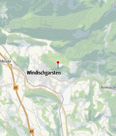 Karte / Naturspuren Station 8: Panoramaturm