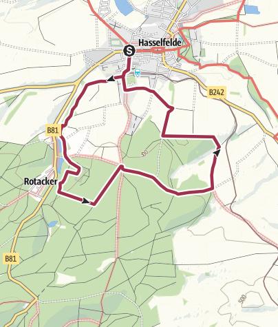Karte / Naturlehrpfad und Rundweg (3)