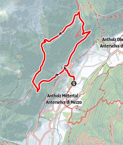 Mapa / Mittertaler Höhenweg