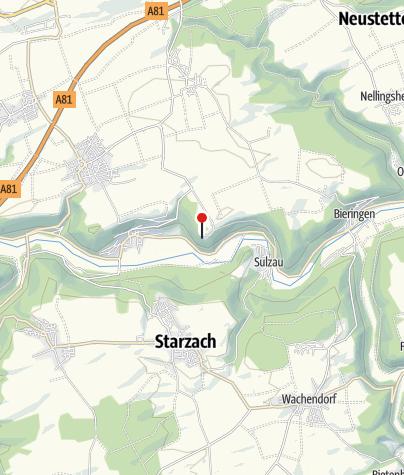 Karte / Schloss Weitenburg