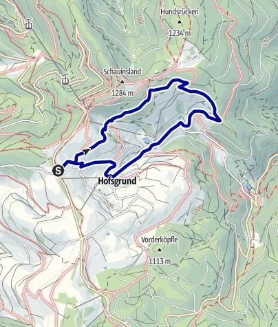 Karte / Zum Schniederlihof und zum Engländerdenkmal