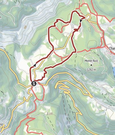 Cartina / Sentiero Grande Guerra 2