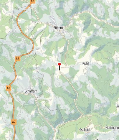 Mapa / Gasthaus Schloss Ziegersberg