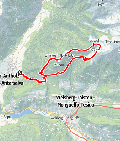 Map / Hiking: Lutterkopf - Durakopf