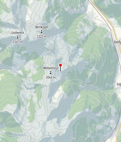 Karte / Präau Hochalm
