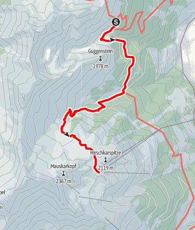 Map / Salzburger Almenweg - Stage 09