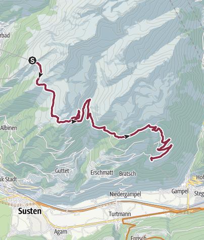 Karte / Torrenttrail Bike