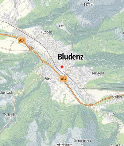 Kaart / Bludenz