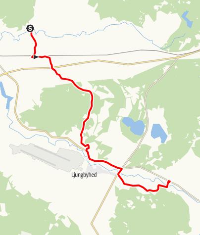 Karta / Sankta Magnhilds väg, Vedby kyrka - Riseberga kyrka