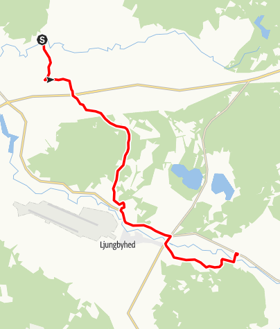 Map / Sankta Magnhilds väg, Vedby kyrka - Riseberga kyrka