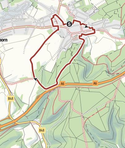 Map / Alsenborner Lebenspfad