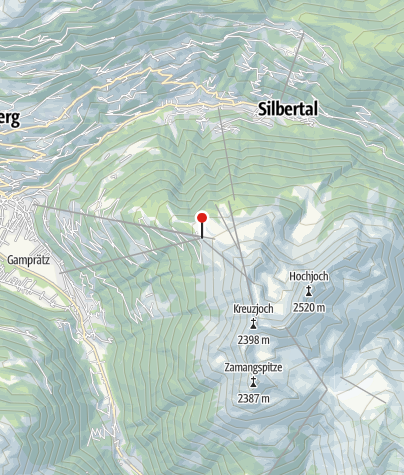Karte / Kapellrestaurant (Bergstation Hochjoch Bahn)