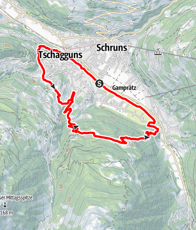 Map / Bitschweil Loop