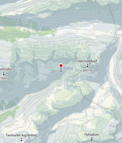 Karte / Rossberg Rinderhütte