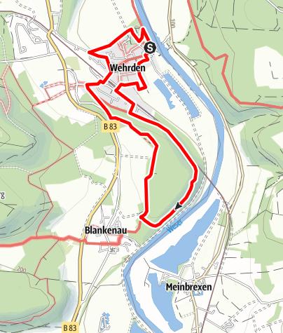 Karte / Steinbruchweg Hegge