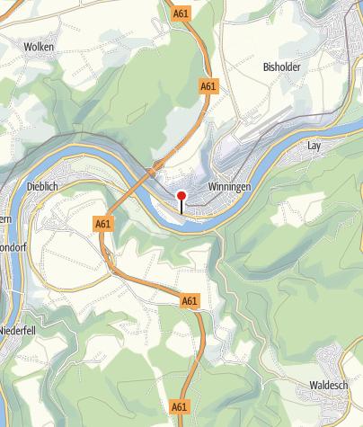 Karte / Hotel Moselblick