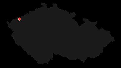 Map / Okolo Božího Daru přes Špičák a rašeliniště