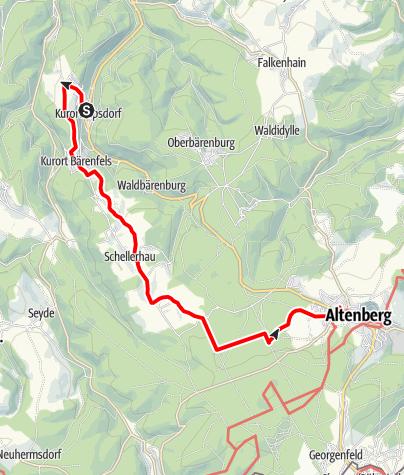 Karte / Glockentour