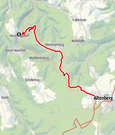 Karte / Tellkoppentour