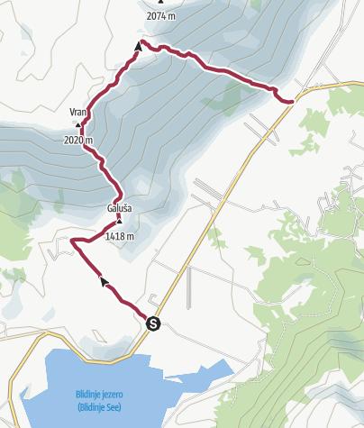 Map / Ascent on Vran