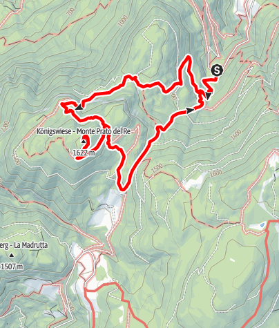 Carte / Königswiese, Naturpark am Trudner Horn
