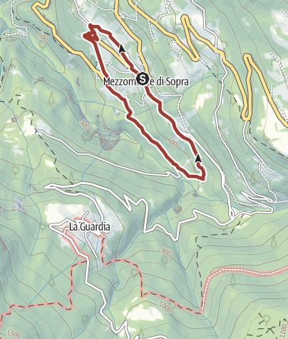 Cartina / 22 - Sentiero Geomorfologico di Mezzomonte
