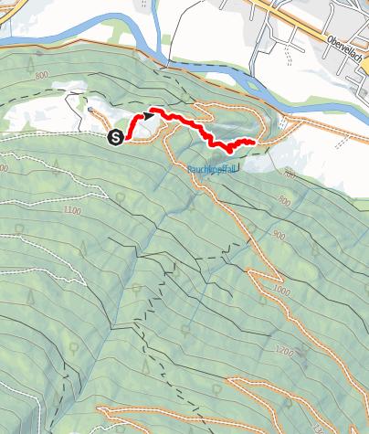 Karte / Obervellach - Launsberghütte