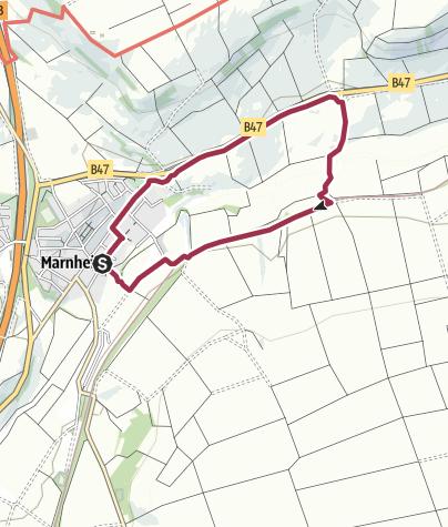 Map / Zellertalweg (Rundweg Marnheim - Heyerhof - Brückentorso)