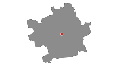 Map / Luther Trail: Section 23 – From Erfurt to Sömmerda