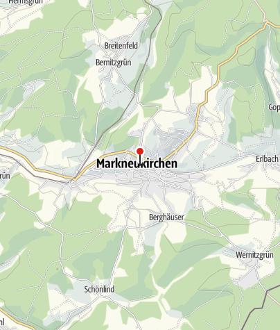 Karte / Sparkasse Vogtland - Filiale Markneukirchen