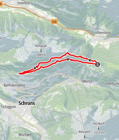 Karte / Kristberger Seen-Runde