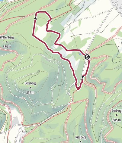 Karte / Kleiner Weiderundweg