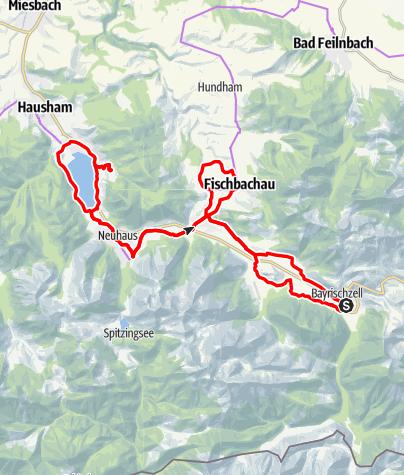 Karte / Die Film-Radltour